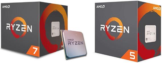 AMD Ryzen 5, Ryzen 7