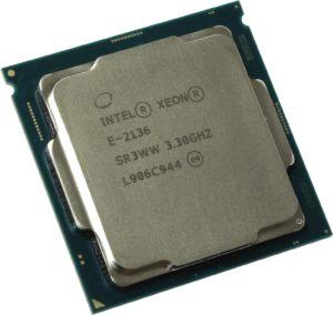 Intel Xeon-E 2136