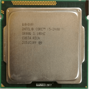 Intel i5-2400 [4c-4t] (3.4GHz)